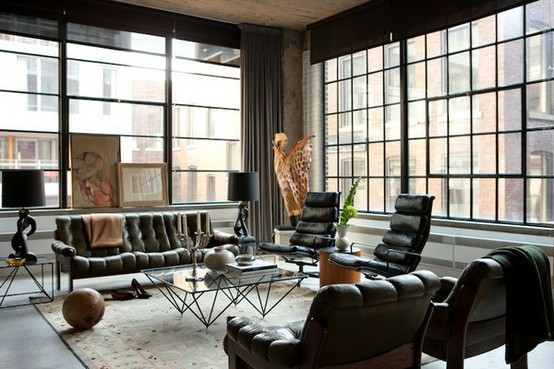 Inspiration lofts like want need for Fenetre style loft