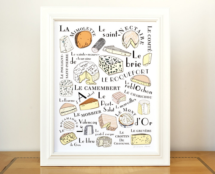 French Kitchen Illustrations Like Want Need